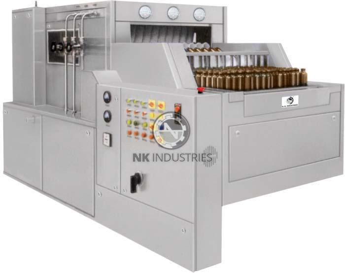 Automatic Bottle Washing Machine (tunnel Type)
