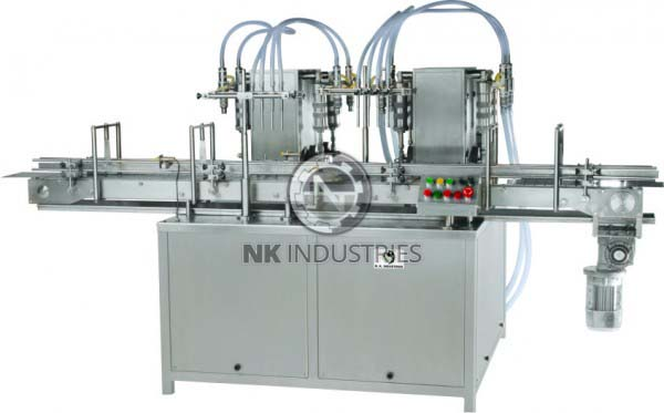 Automatic Eight Head Volumetric Liquid Filling Machine