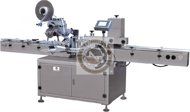 automatic top side self adhesive sticker labeling machine