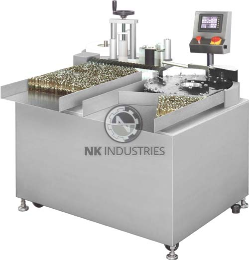 vial sticker labeling machine