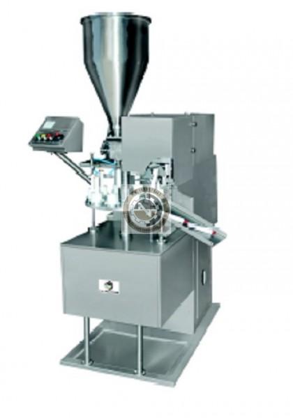 semi automatic tube filling sealing machine