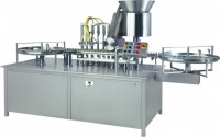 automatic injectable  vial filling & stoppering machine