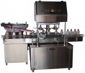 automatic inline linear screw capping machine