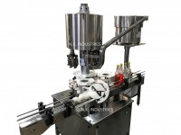 automatic juice bottle capping machine