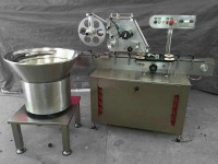 automatic lid labeling machine