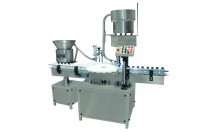 automatic monoblock inner plugging screw capping machine