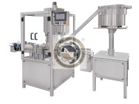 automatic multi head pick and place rotary screw capping machine