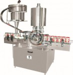 automatic multi head rotary lug capping machine