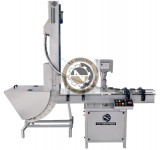 automatic single head lug capping machine