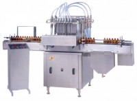 automatic six head volumetric liquid filling machine
