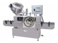 automatic twist off cap vacuum lug capping machine