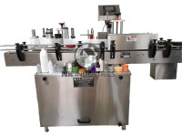 cosmetic bottle sticker labeling machine