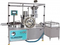 injectable vial dry powder filling machine with online weighing system
