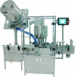 multi head rotary shut pick up type screw capping machine