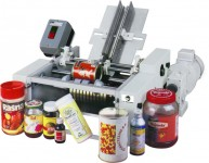 semi automatic wet glue labeling machine: